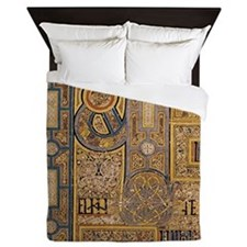 Book of Kells Queen Duvet