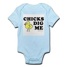 Chicks dig me -  Infant Bodysuit