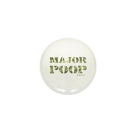 Major Poop Mini Button