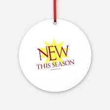 New this season  Ornament (Round)