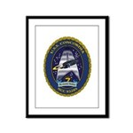 USS Concordia Framed Panel Print