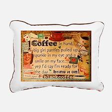 Coffee Love Rectangular Canvas Pillow