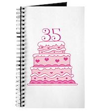 35th Anniversary Cake Journal