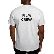 FILM CREW (on back, in black) T-Shirt
