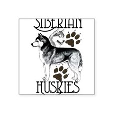 Siberian Huskies Sticker