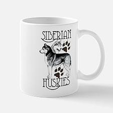 Siberian Huskies Mug