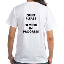 QUIET PLEASE (back) Shirt