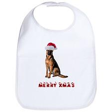German Shepherd Christmas Bib