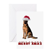 German Shepherd Christmas Greeting Card