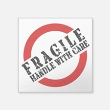 FRAGILE HANDLE WITH CARE Sticker