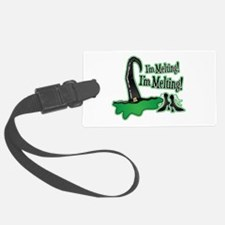 Wicked Witch Melting Luggage Tag