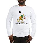 Beer Frame Bowling Long Sleeve T-Shirt