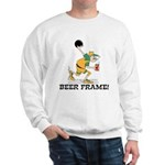 Beer Frame Bowling Sweatshirt