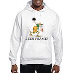 Beer Frame Bowling Hooded Sweatshirt