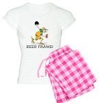 Beer Frame Bowling Women's Light Pajamas