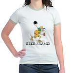 Beer Frame Bowling Jr. Ringer T-Shirt