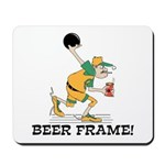 Beer Frame Bowling Mousepad