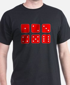 Red Dice Set T-Shirt