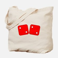 Red Dice Two Two Tote Bag