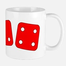 Red Dice Two Four Mug