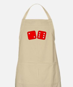 Red Dice Two Six Apron