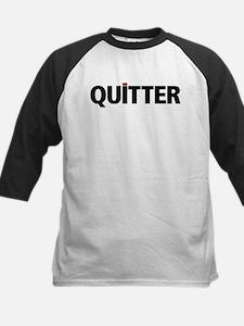 QUITTER Baseball Jersey