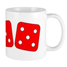 Red Dice Three Five Mug