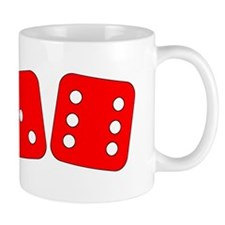 Red Dice Three Six Mug
