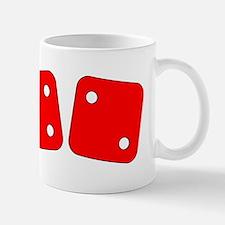 Red Dice Four Two Mug