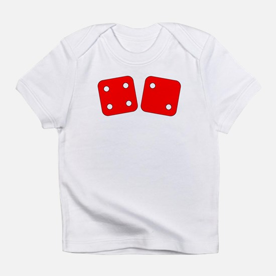 Red Dice Four Two Infant T-Shirt