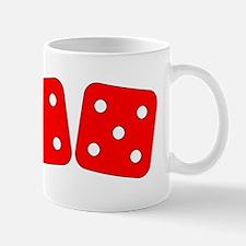 Red Dice Four Five Mug
