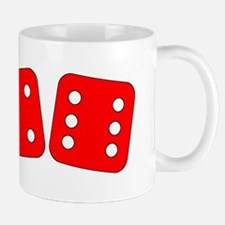 Red Dice Four Six Mug