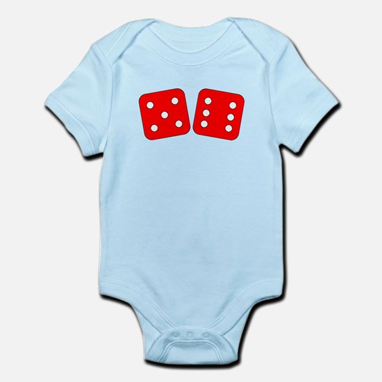 Red Dice Five Six Body Suit