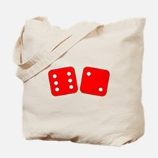 Red Dice Six Two Tote Bag