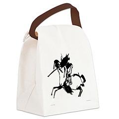 johnbudneyblackwhitetshirt.jpg Canvas Lunch Bag