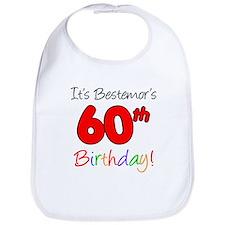 Bestemors 60th Birthday Bib