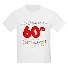 Bestemors 60th Birthday T-Shirt
