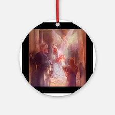 A Child is Born Ornament (Round)