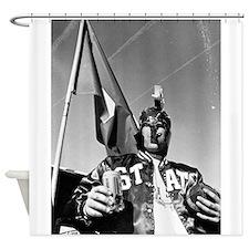Enlightened Spartan Shower Curtain