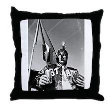 Enlightened Spartan Throw Pillow