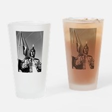 Enlightened Spartan Drinking Glass
