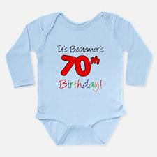Bestemors 70th Birthday Body Suit