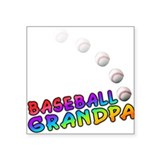 Baseball grandpa Stickers