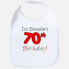 Bestefars 70th Birthday Bib