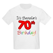 Bestefars 70th Birthday T-Shirt