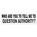 Why Question Authority?