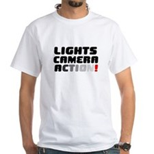 LIGHTS CAMERA ACTION! T-Shirt