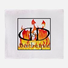 DDBBQ Throw Blanket