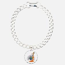 Oshun Charm Bracelet, One Charm