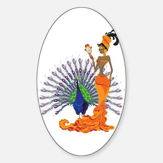 Oshun Sticker (Oval)